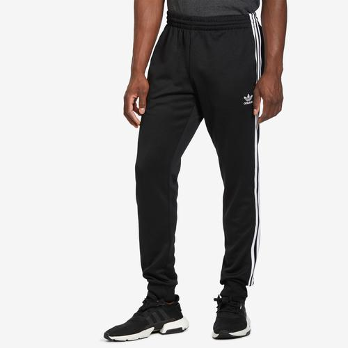 Front View of adidas Men's SST Track Pants