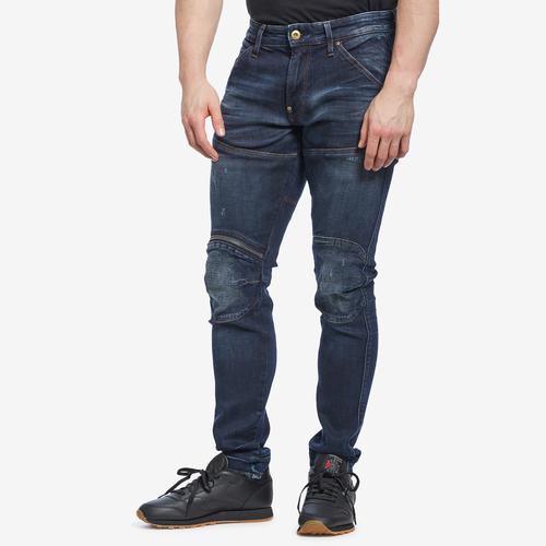 Front View of G STAR RAW Men's 5620 3D Zip Knee Skinny Jeans