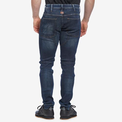 Back View of G STAR RAW Men's 5620 3D Zip Knee Skinny Jeans