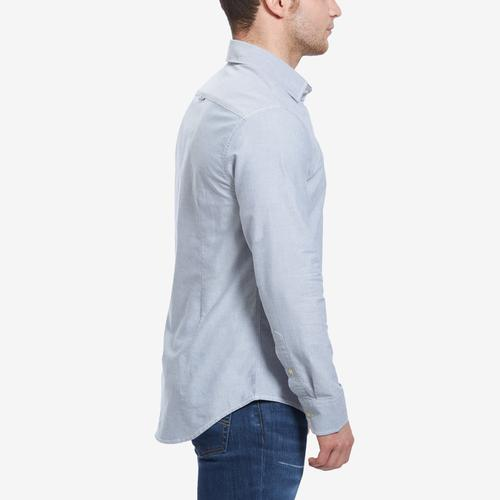 Left Side View of G STAR RAW Men's Bristum 1 Pocket Slim Shirt