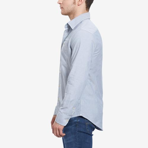 Right Side View of G STAR RAW Men's Bristum 1 Pocket Slim Shirt