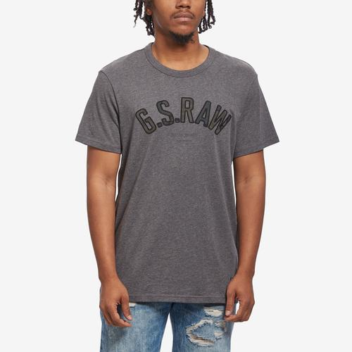 Front View of G STAR RAW Men's Graphic 12 T-Shirt