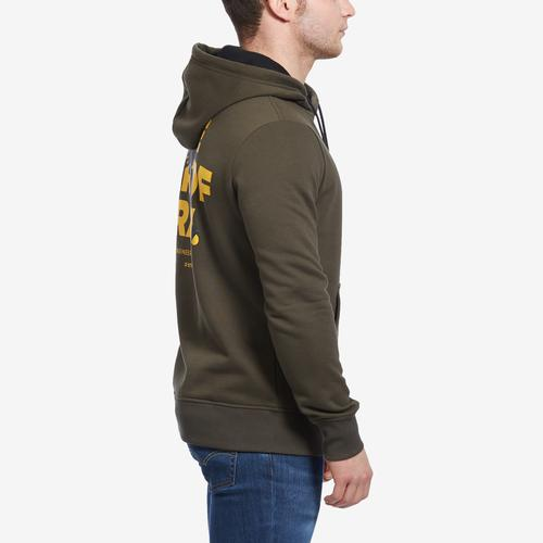 Left Side View of G STAR RAW Men's Graphic 17 Sweater