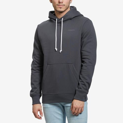 Front View of G STAR RAW Men's Originals Backpanel GR Hooded Sweater