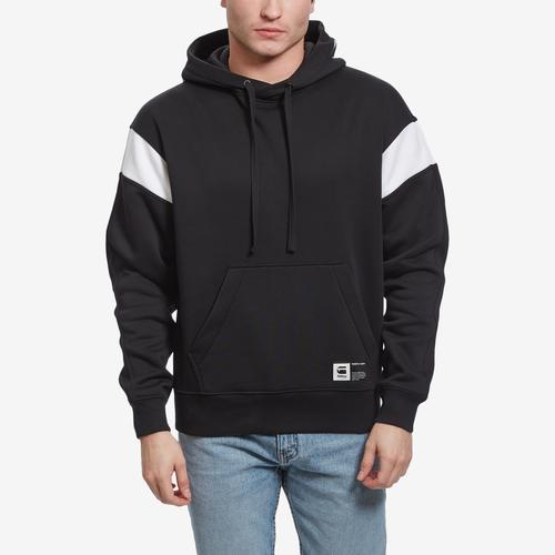 Front View of G STAR RAW Men's Stor Sport GR Hooded Sweater