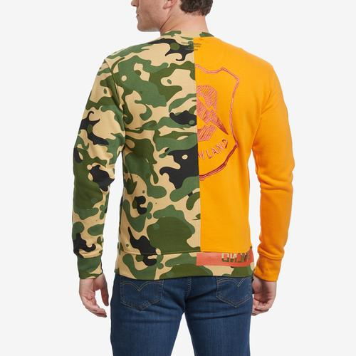 Back View of DREAMLAND Men's Okinawa Crewneck
