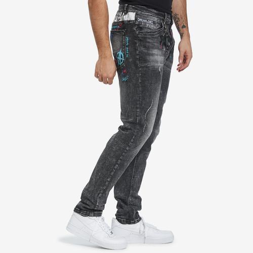 Left Side View of Dreamland Men's Insolent Jeans