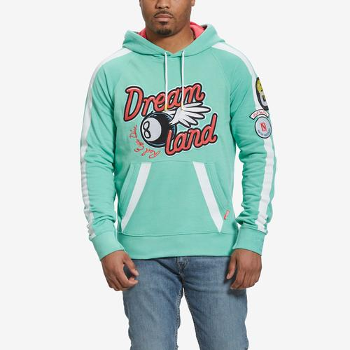 Front View of Dreamland Men's Graphic Hoodie