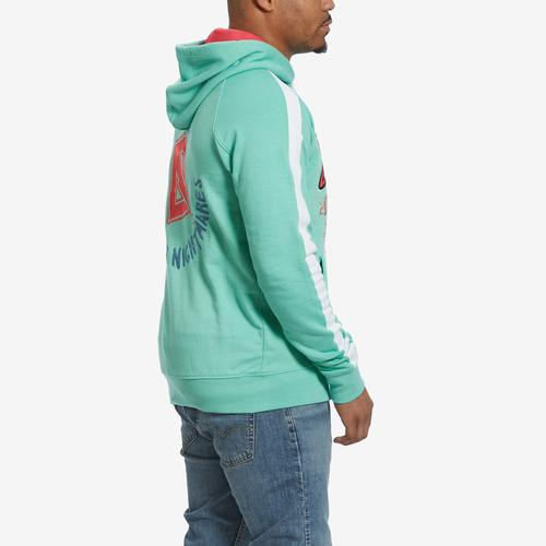 Left Side View of Dreamland Men's Graphic Hoodie