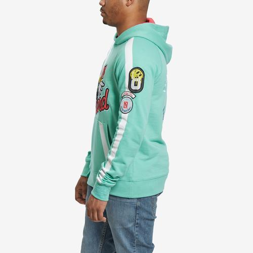 Right Side View of Dreamland Men's Graphic Hoodie