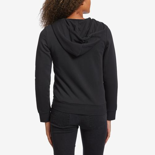 Back View of adidas Women's Essentials Linear Hoodie