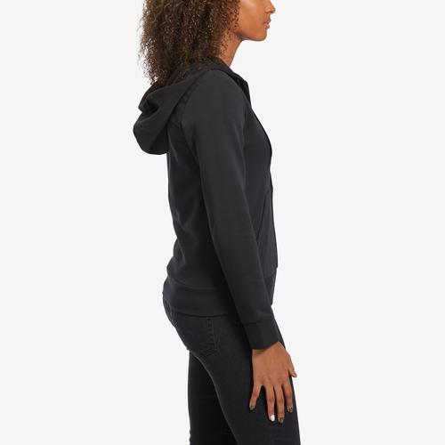 Right Side View of adidas Women's Essentials Linear Hoodie