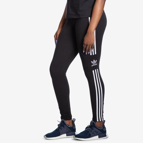 Front View of adidas Women's Trefoil Tight