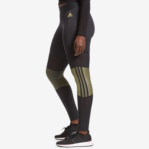 Left Side View of adidas Women's ID Glam Tights