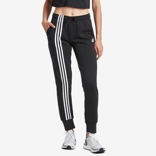 Front View of adidas Women's Must Haves 3-Stripes Double Knit Pant