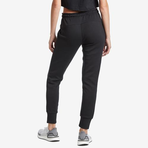 Back View of adidas Women's Must Haves 3-Stripes Double Knit Pant