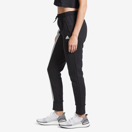 Left Side View of adidas Women's Must Haves 3-Stripes Double Knit Pant