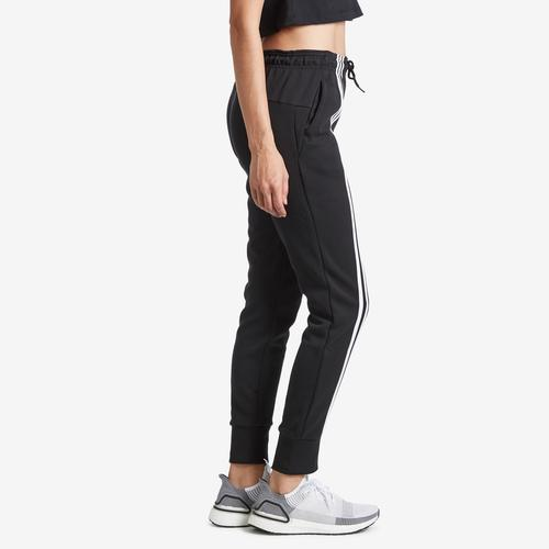 Right Side View of adidas Women's Must Haves 3-Stripes Double Knit Pant