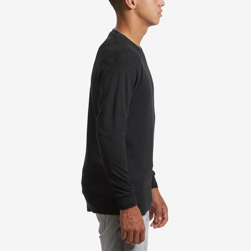 Right Side View of EBL by Galaxy Men's V-Neck Thermal Shirt