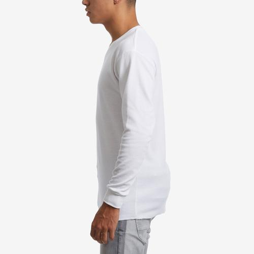 Left Side View of EBL by Galaxy Men's V-Neck Thermal Shirt