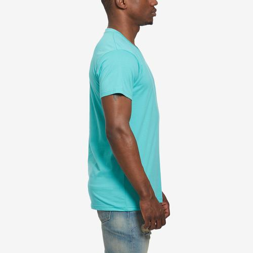 Left Side View of Galaxy Men's V-Neck Tee