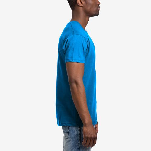Right Side View of Galaxy Men's V-Neck Tee
