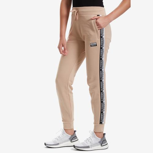 Front View of adidas Women's Cuff Pants
