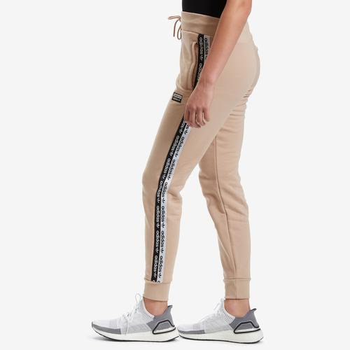 Left Side View of adidas Women's Cuff Pants