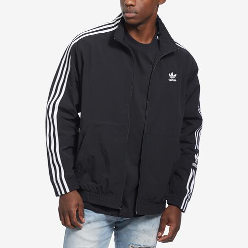 Front View of adidas Men's Woven Track Jacket