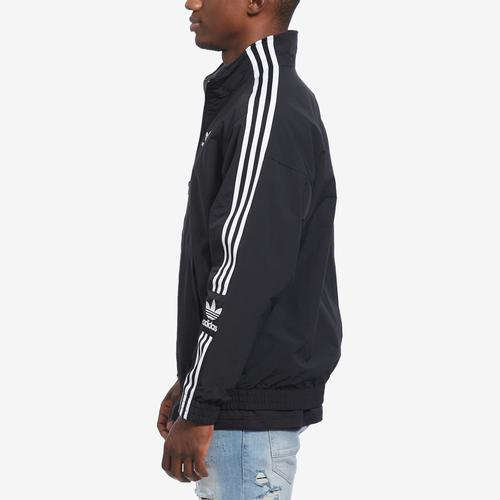 Left Side View of adidas Men's Woven Track Jacket