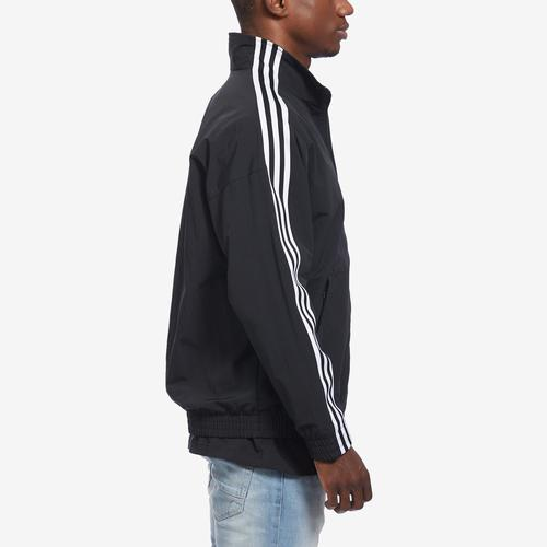 Right Side View of adidas Men's Woven Track Jacket