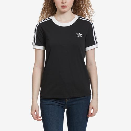 Front View of adidas Women's 3 Stripes Tee