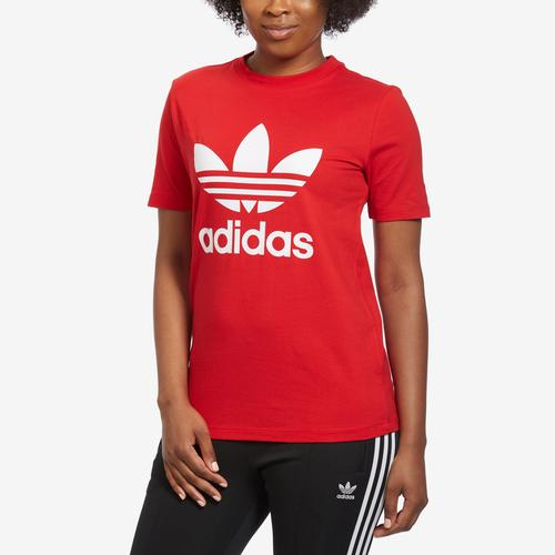 Front View of adidas Women's Trefoil Tee
