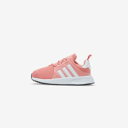 Left Side View of adidas Girl's Toddler X-PLR Sneakers