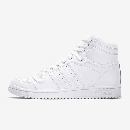 Left Side View of adidas Boy's Grade School Top Ten Hi J Sneakers