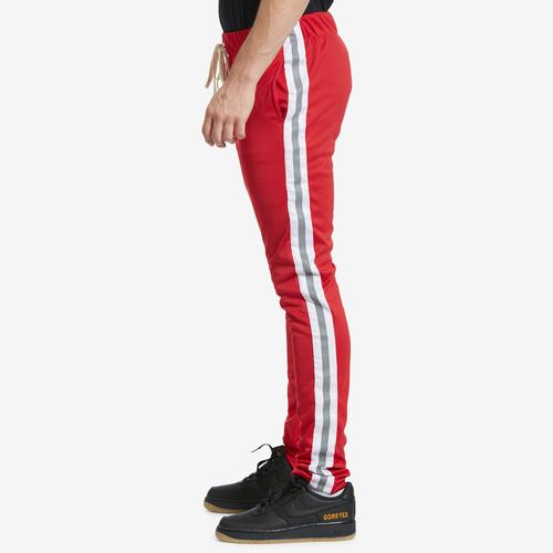 Left Side View of EPITOME Men's Reflective Track Pants
