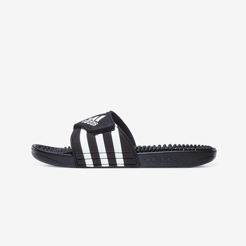 Side Angle View of adidas Boy's Grade School Adissage Slides