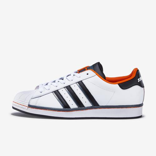 Left Side View of adidas Men's Superstar Sneakers
