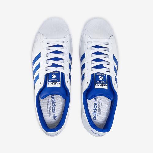Bottom View of adidas Men's Superstar Sneakers