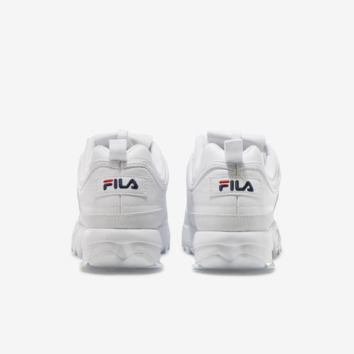 Back View of FILA DISRUPTOR WHITE OG Sneakers