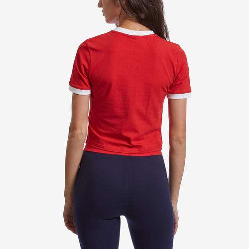 Back View of FILA Women's Tionne Cropped Tee