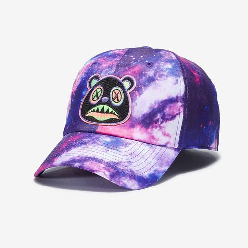 Front Right View of Baws Galaxy 80s Tie Dye Hat