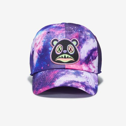 Front View of Baws Galaxy 80s Tie Dye Hat