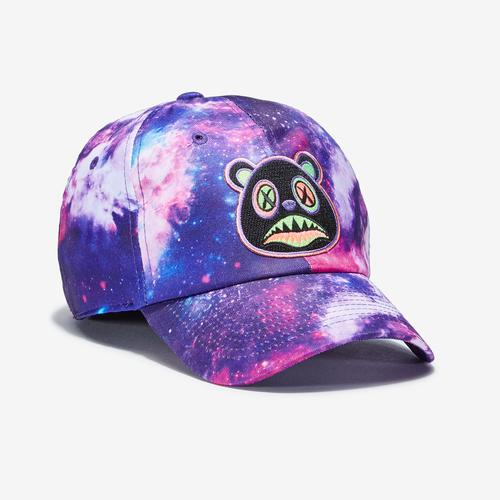 Front Left view of Baws Galaxy 80s Tie Dye Hat