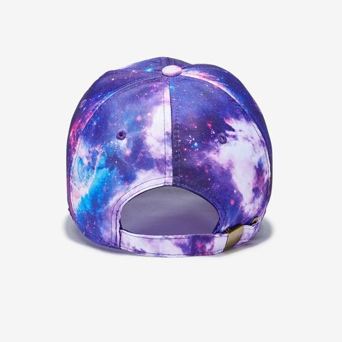 Back view of Baws Galaxy Shark Tie Dye Hat