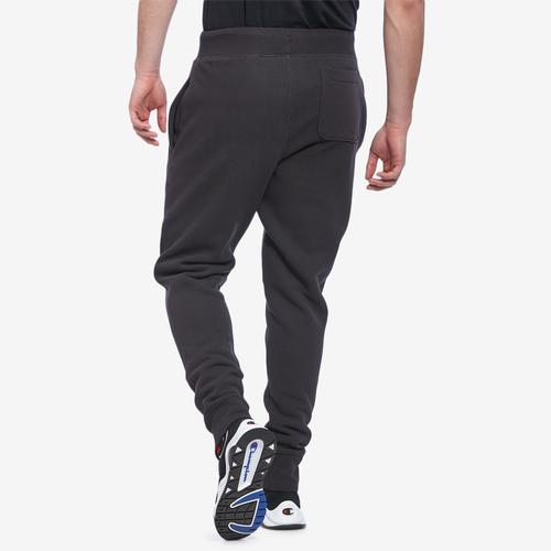 Champion Life Reverse Weave Joggers, Oversized Script Men's Pants
