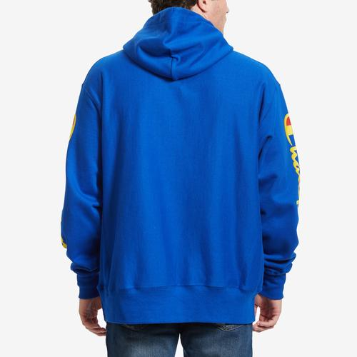 Champion Men's Reverse Weave Arm Script Hoodie