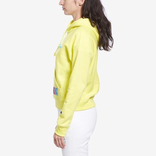 Right Side View of Champion Women's Reverse Weave Pullover Hoodie