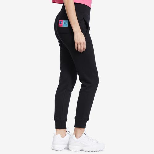 Left Side View of Champion Women's Reverse Weave Joggers