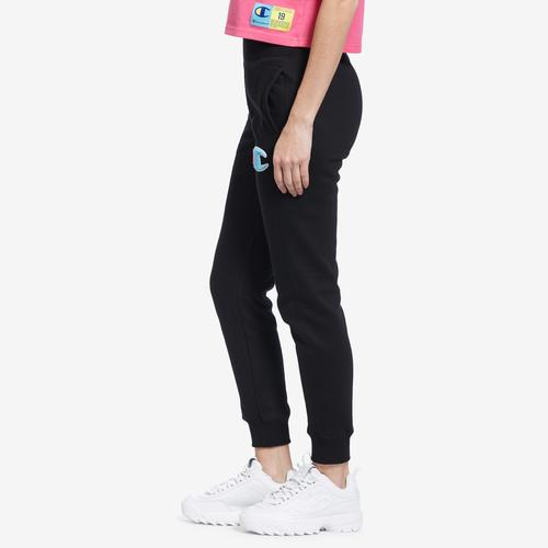 Right Side View of Champion Women's Reverse Weave Joggers